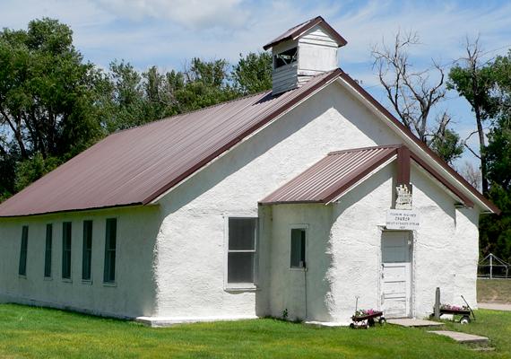 Azonos technológiával épült templom, szintén az USA-ban.