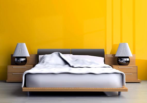 Az erőteljes citromsárga a nap színe, mely temérdek energiával lát el. Ha azonban szeretnéd, hogy a hálószoba inkább a nyugodt pihenés és elmélyülés színtere lenne, itt semmiképp se ezt alkalmazd.