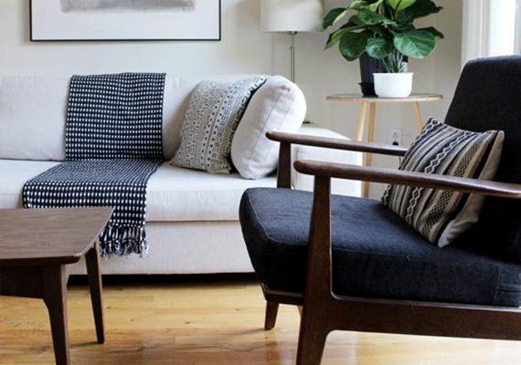 Tágasabbnak tűnik a szoba, ha amellett, hogy berendezése is letisztult, rendezett, takaros, nem zsúfolod tele mindenfélével, és minél kevesebb porfogót tartasz.