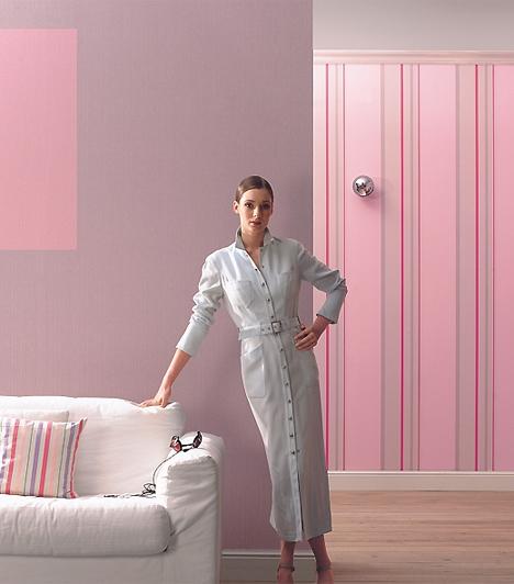 Soft Velvet 2009A Soft Velvet-sorozat másik nagy hódítója a lila és a rózsaszín szerelméből született. Ha szereted hangsúlyozni a nőiességed, de sikerült megőrizned valamicskét gyermeki bájodból is, és ezt az otthonodba látogatók tudtára is adnád, a Soft Velvet csíkos tapétája neked való.