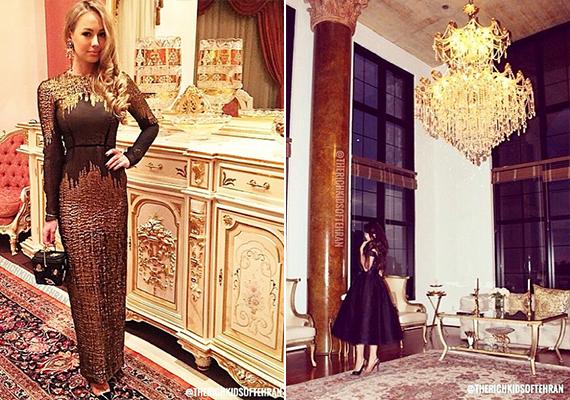 Fényűző berendezés és modern divat - sokan valóban nem így képzelik az iráni mindennapokat.