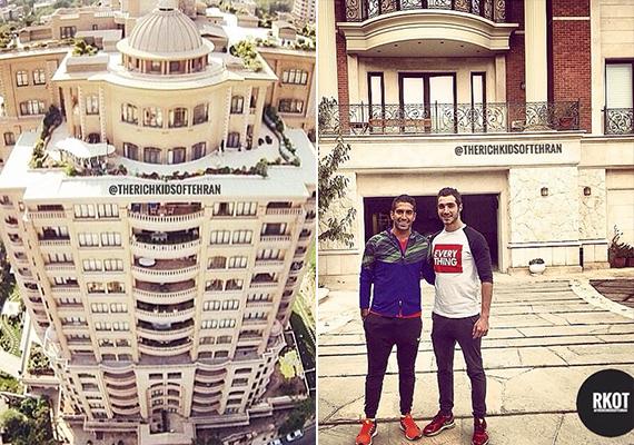 Luxus lakóházak Iránban. Sokan vélik úgy, hogy a hasonló képek posztolása bármely országban indulatokat váltana ki, hisz alig akad a világon olyan hely - már ha van egyáltalán -, ahol a luxus jelentené az átlagos életszínvonalat.