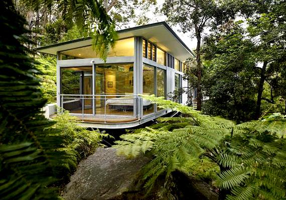 Az ausztráliai Church Point lakói igazán közel érezhetik magukat a természethez.
