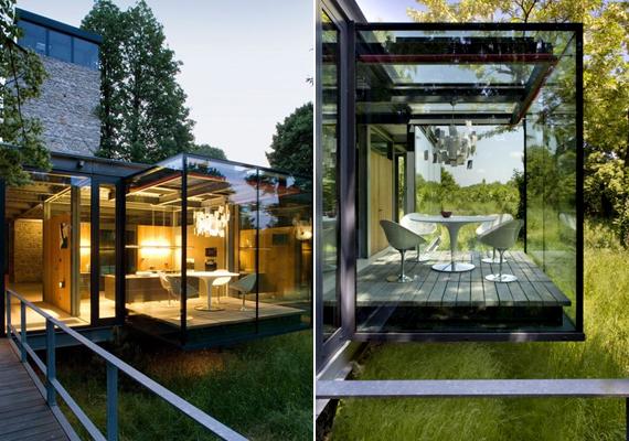 A krakkói Jodlowa House londoni és lengyel építészek együttműködése által született meg.