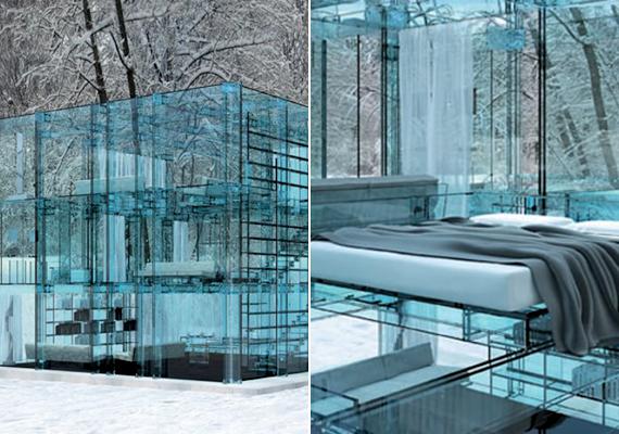 Ez az Olaszországban, Milánóban található ház Carlo Santambrogio tervező nevéhez köthető.