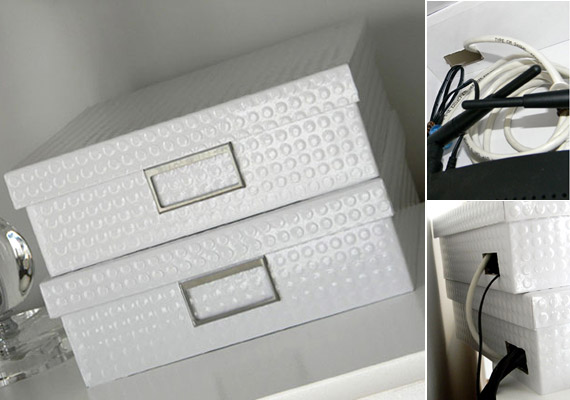 Gondolnád, hogy a nappaliban elhelyezett elegáns kis dobozok akár modemet is rejthetnek, a hozzá tartozó vezetékekkel?