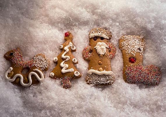 Mézeskalács                         A mézeskalács az az édesség, aminek minden fázisa kész öröm, hiszen a sütésben és formálásban részt vehet mindenki, remek móka. Utána a díszítésből szintén mindenki kiveheti a részét, így közösségi élmény lesz ez is, végül a fogyasztás öröme már csak hab a tortán, ahogy az is, hogy akár karácsonyfadíszként is felhasználhatod az édes, mézes finomságot, így lényegesen kevésbé hizlal.