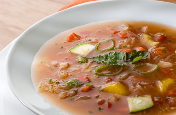 káposzta leves receptek