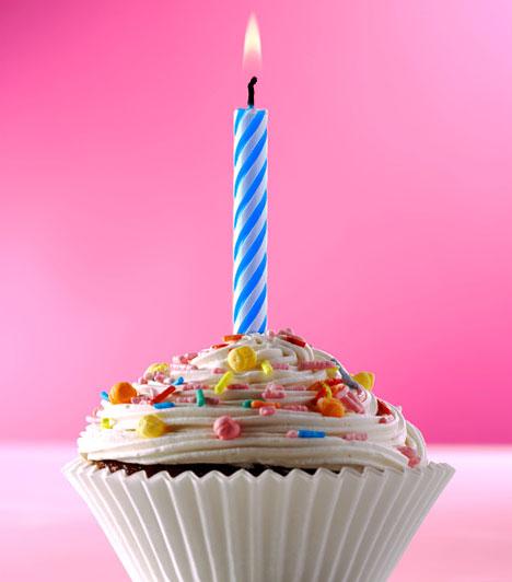 Happy birthday!  Ha a barátnőd fogyókúrázik, esetleg nincs kedved tortasütésbe fogni, akkor gyárts születésnapi cupcake-et. Ha sokat készítesz, akkor a mennyiség kitesz egy tortát. Ha viszont a vendégség nem nálad van, óvatosan szállítsd az apró műremekeket.