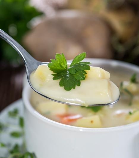 Krumplifőzelék                         A krumpli a többi zöldséggel ellentétben mérsékelten egészséges, de legalább egész évben használhatod, készíthetsz belőle sütőben sült, olajban sült vagy főtt változatot, de, ami a legjobb, főzeléket is!