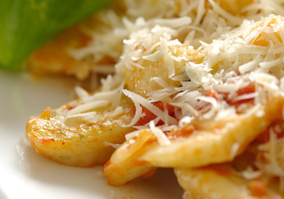 A paradicsomos gnocchi olyan, mintha sós nudlit ennél.