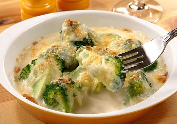 A brokkoliban rengeteg az antioxidáns, és hamar megfő.