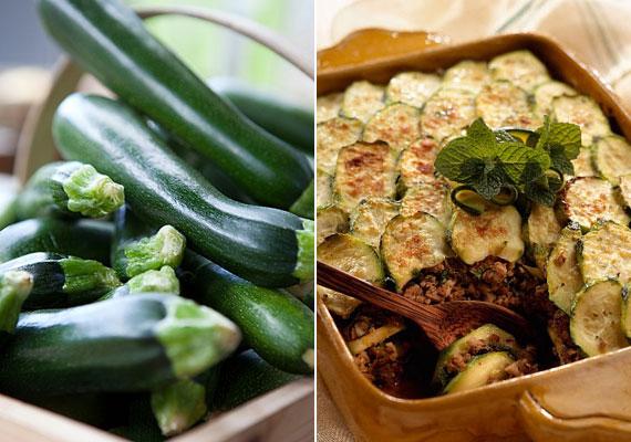 A cukkini télen is kapható, nem szabad kihagyni a belőle készült finom egytálételt.
