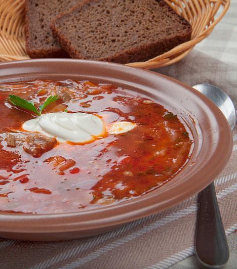 Orosz céklaleves - a borscs  Klasszikus fogás az északkeleti térség minden pontján, egészséges és nagyon tápláló.  Ínycsiklandó leves telis-tele vitaminnal »