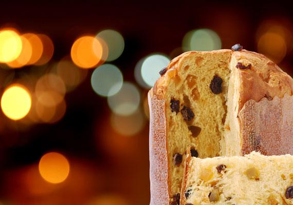A panettone nélkül az olasz karácsony elképzelhetetlen, tulajdonképpen a kuglóf és a kalács ötvözete.