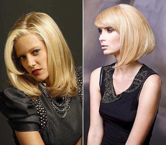 A bemondónős hajviseletnek elkönyvelt hosszú Kleopátra-frizurák szintén nagyon megkreáltak és merevek, amitől öregebbnek saccolhatnak.