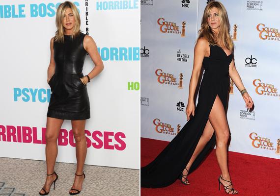 40 felett már nyoma sincs a hamvas bájnak, de pont emiatt ezek a nők már sokkal jobban odafigyelnek magukra, ami például Jennifer Aniston esetében meg is látszik. A színésznő sokat sportol, alakja láttán a huszonévesek felköthetik a nadrágjukat.