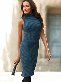 Kék kötött ruha