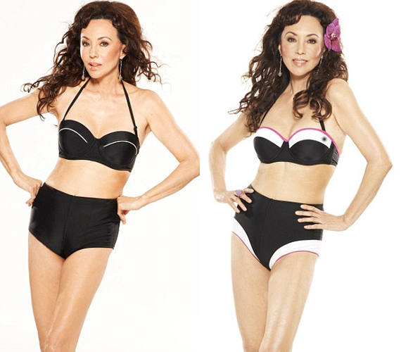 Nem ez az első eset, hogy a kora ellenére alakot megmutató képeket vállalt. 2012-ben, 59 évesen az isme.com felkérésére bikiniben állt modellt, rácáfolva arra, hogy a kor előrehaladtával már csak az egyrészes darabok állhatnak jól.