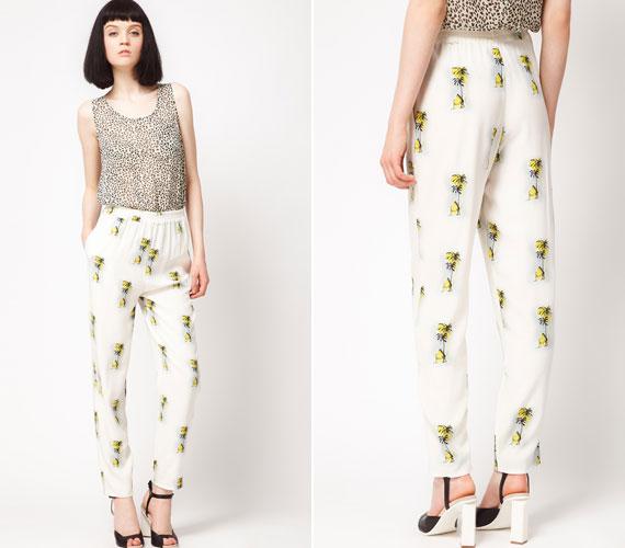 Idén nagy divat a pizsama, a szoros derékvonal feljebb tereli a tekintetet.