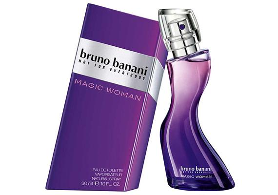 A Bruno Banani Magic Woman nevű parfümje már nevében is a csábító nőt sugározza, amit csak megerősít a dinnye, a maracuja, az ibolya, a gyöngyvirág, az eper, a szantálfa és a pézsma kombinációja. A 20 ml-es kiszerelés ára 5200 forint körül mozog.