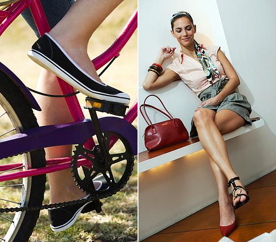 Igaz, hogy magas sarkú cipőkkel megnyújthatod a sziluetted, ám a viselésük arra késztethet, hogy minél többször megállj, leülj és megpihenj. Nem muszáj folyton tornacipőben flangálnod, de egy kényelmes, lapos talpú lábbeli jobban inspirálhat arra, hogy munka után inkább gyalog, ne pedig busszal vagy autóval vágj neki a hazaútnak.