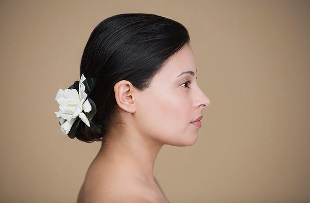 6d0d18b8bc A 11 legszebb esküvői konty, ha nincs sok hajad - Szépség és divat | Femina