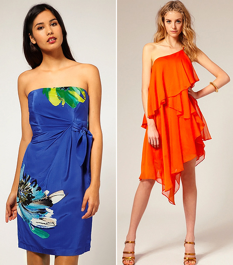 Trópusi glamúr  A trópusi hangulatú nőies ruhák lehetőséget adnak számodra, hogy a megszokott eleganciádat a nyaralás ideje alatt is megtarthasd. Nincs olyan vízparti buli, melyen ne arathatnál sikert egy élénk színeket elegyítő, akvarellmintás kreációban, vagy egy sokrétegű muszlincsodában, melyek lapos talpú szandállal párosítva ugyanúgy sikkesek maradnak.