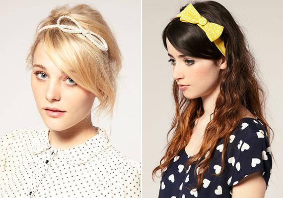 Az őszi szél összevissza kócolja a hajad? Szerezz be néhány trendi hajpántot és hajgumit. A jelszód ez legyen: minél nagyobb, annál jobb.