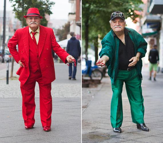 Ali 46 éve él Németországban, most 84 éves, és még mindig dolgozik. Egészen olyan, mint egy Rejtő Jenő-figura, volt orvos, most szabó, de állítólag cirkuszban is fellépett, és 18 gyereke született. Szereti a színes ruhákat.