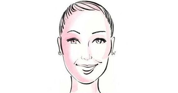 Hosszúkás arcforma, az áll lefelé nyújtott, az arc keskeny. Sarah Jessica Parker egyértelműen ebbe a típusba tartozik.