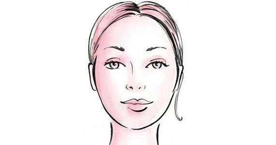 Ovális arc, ezt tekintik szabályosnak, az arányok teljesen kiegyenlítettek. Kate Hudson él ilyen szabályos arccal.
