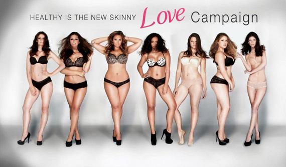Nagyritkán azonban felbukkannak olyan kampányok is, melyek a józan észt képviselik. A Healthy is the New Skinny, magyarul az Egészséges az új sovány sorozat elve, hogy a vékonyság helyett az egészséges alakot kellene ideálisnak tekinteni. Sajnálatos, hogy ez a nézet egyelőre nem túlzottan elterjedt, noha könnyen elképzelhető, hogy egy nő valóban akkor gyönyörű, ha az alkatának megfelelő, egészséges a testsúlya.A szépség fogalma egyébként is szinte minden területen szorosan összefügg az egészséggel, legyen szó a fehér fogakról, a csillogó, ápolt hajról vagy a pattanásoktól, aknétól mentes, ragyogó bőrről, minden esetben az egészség a kulcsszó. Miért ne lehetne ez az ideális akkor is, ha a testsúlyunkról van szó?