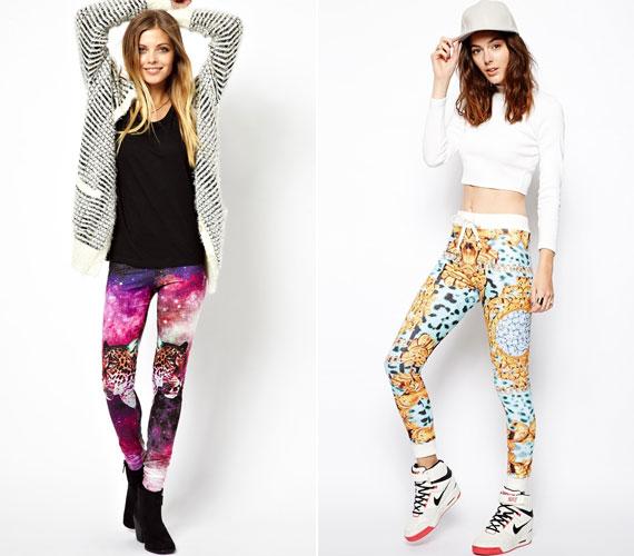 A leggingsek egyelőre itt maradnak, ami jó, hiszen praktikusak, és sokféle ruhához viselhetők, de a túl nagy, feltűnő minták inkább nevetségesek.