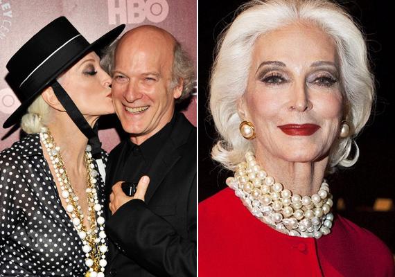 Az egykori modell tudja, hogy mennyi múlik a kiegészítőkön: a letisztult eleganciát hordozó gyöngysorok a kedvencei.