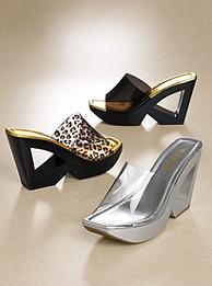 Átlátszó, műanyag cipő - fini nyári viselet