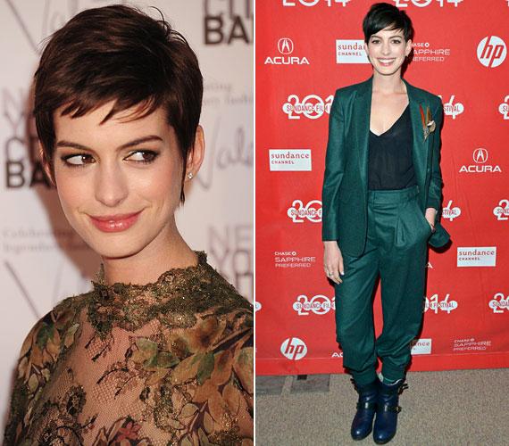 Anna Hathawaynek is sok kritikusa van, mondván, túl nagy a szája, a szeme, aránytalan az arcra. Pedig a színésznő nagyon bájos, és egyre inkább kezdi megtalálni saját, kicsit gótikus, nőies stílusát.