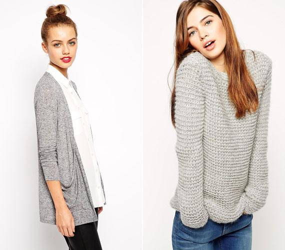 Az idei téli szezon kedvenc színe a szürke, mely egyáltalán nem unalmas. Egy pulóvert vagy kardigánt mindenképpen szerezz be.