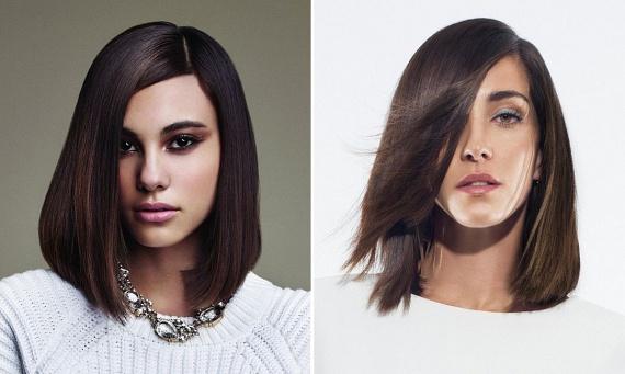 Ha a hullámok helyett inkább az egyenes, sima hajat részesíted előnyben, akkor divatossá teheted a külsődet, ha erősen aszimmetrikusan választod el a hajadat, és kissé befelé szárítod a végét.
