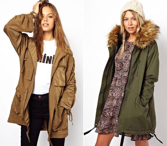 A parka kabát tavaly jött divatba, és praktikus is lehet kiránduláskor, de nem egy nőies ruhadarab.