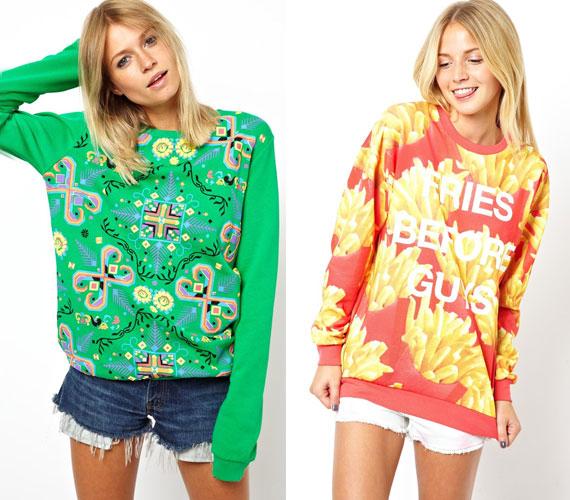 A pulóvereknél maradva, úgy látszik, hogy néhány márka jó mókának tartja a minél csúnyább minták alkalmazását. Nos, nem biztos, hogy ez olyan jó ötlet.