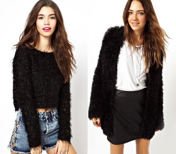 A szőrös pulóver egyszer már kiment a divatból, de úgy látszik, hogy ismét kopogtat az divat ajtaján. Sajnos.