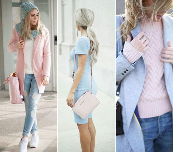 A pasztelles rózsaszín és kék kislányos bájt kölcsönöz viselőjének, és különösen jól mutatnak puha, bolyhos anyagokon. Nyáron azért szeretheted majd, mert mindkettő kiemeli a bőr barnaságát.