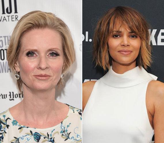 Cynthia Nixon, vagyis Miranda a Szex és New Yorkból, illetve Halle Berry Oscar-díjas színésznő 1966-ban születtek, mindketten kétgyerekes édesanyák.