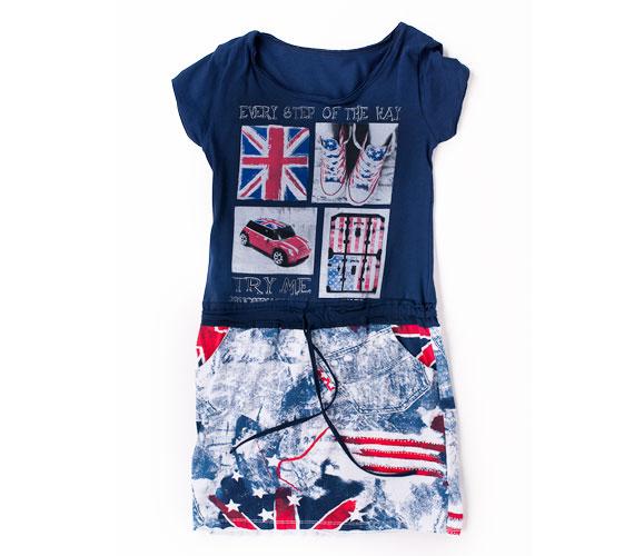 Rockos vagánysággal ruházhat fel téged is ez a londoni ihletésű kis ruha. Keresd az AsiaCenterben, ára 5990 forint.