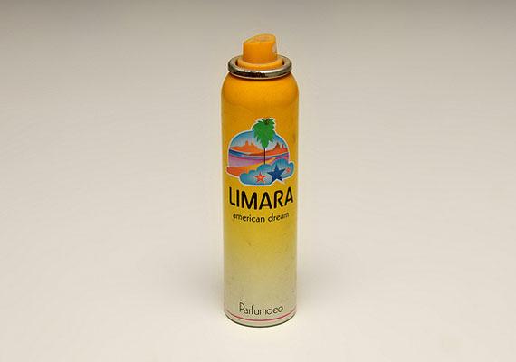 A Limara parfüm nagyon menő volt annak idején, a nővé válás egy fontos lépése volt a beszerzése.