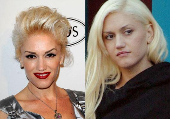Gwen Stefani szintén a piros rúzs híve. Egyszer azt nyilatkozta, hogy meztelennek érzi magát smink nélkül, és nagyon fontos neki, hogy mindig tip-top legyen.