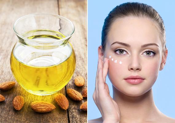 A szemkörnyékápolódba keverj bele néhány csepp mandulaolajat, és a gyűrűsujjaddal óvatosan ütögesd a szem alá. Ez felfrissíti az itteni hajszálerek keringését, így elkerülhetők a reggeli sötét karikák.