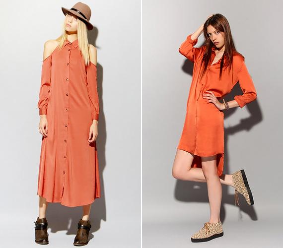 A vagány ingruhák szintén mandarinszínbe borulnak tavasszal. Ez jó hír, mert így még több stílusba belevarázsolhatóak.