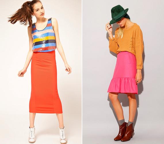 A colour blocking trendben az élénkebb és fakóbb tónusai is kedvükre sziporkázhatnak, hiszen a hideg és meleg divatszínekkel egyaránt megtalálják a közös nevezőt.